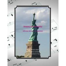 America the Beautiful, SATB choir