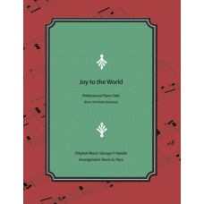 Joy to the World, advanced piano solo