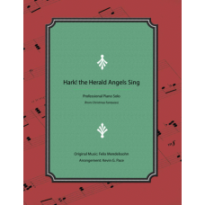 Hark! the Herald Angels Sing, Advanced piano solo