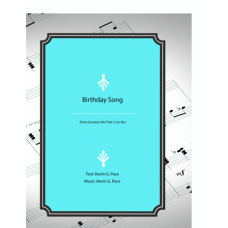 Birthday Song: vocal solo, unison choir or piano solo