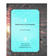 The Battle Hymn of the Republic - piano solo, vocal solo or unison choir