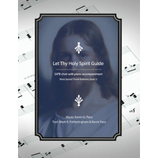 Let Thy Holy Spirit Guide, SATB choir