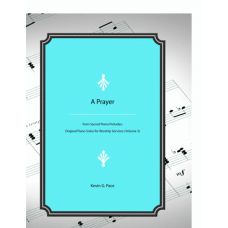 A Prayer, Piano Solo