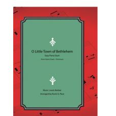 O Little Town of Bethlehem, easy piano duet