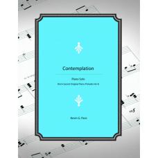 Contemplation, piano solo