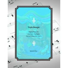 Triple Boogie - piano trio.  One piano, six hands.