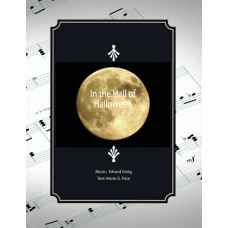 In the Hall of Halloween, Advanced song for vocal solo, unison choir or piano solo