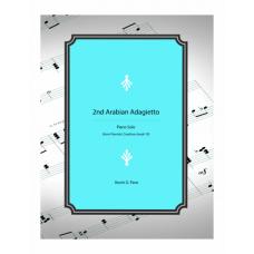 2nd Arabian Adagietto - piano solo