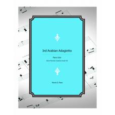 3rd Arabian Adagietto - piano solo