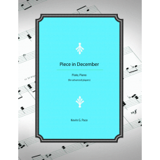Piece in December: flute and piano