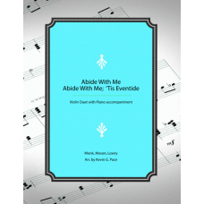 Abide with Me / Abide With Me; 'Tis Eventide medley: violin duet