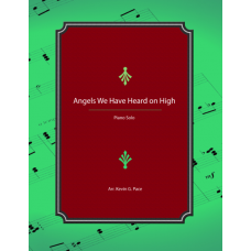 Angels We Have Heard on High, advanced piano solo