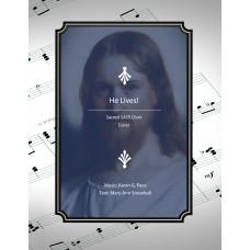He Lives, sacred SATB choir (Easter music)