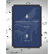 Lyrical Tone Poem No. 12 in G# Minor, piano solo