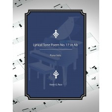 Lyrical Tone Poem No. 17 in Ab, piano solo
