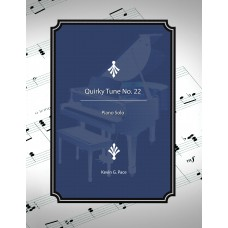 Quirky Tune No. 22, piano solo