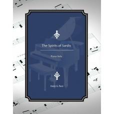 The Spirits of Sardis, piano solo